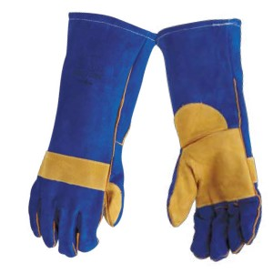 BLUE LINED WELDING GLOVE