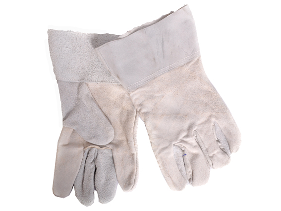 GLOVES CHROME LEATHER WRIST
